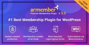 ARMember v3.3.1 - WordPress Membership Plugin