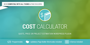 Cost Calculator v2.3.2 - WordPress Plugin