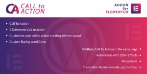 Call To Action for Elementor v1.0 - WordPress Plugin