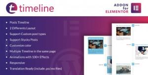 Timeline for Elementor v1.0 - WordPress Plugin