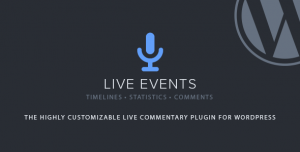 Live Events v1.2.3 - Premium Wordpress Plugin