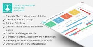 WPCHURCH v1.5 - Church Management System for Wordpress