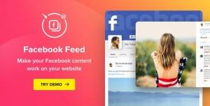 WordPress Facebook Plugin v1.12.0 - Facebook Feed Widget