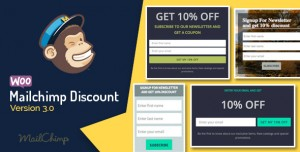 Woocommerce Mailchimp Discount v3.4