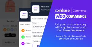 Coinbase Commerce for WooCommerce v1.1.1