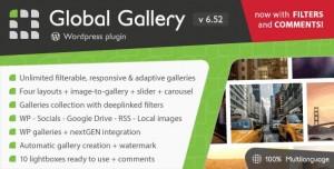 Global Gallery v6.531 - Wordpress Responsive Gallery