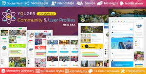 Youzer v2.3.3 - Buddypress Community & User Profiles