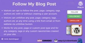 Follow My Blog Post WordPress Plugin v1.9.14