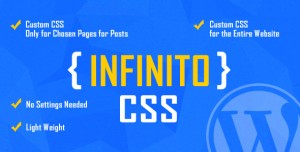 INFINITO v1.1 - Custom CSS for Chosen Pages and Posts