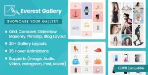 Everest Gallery v1.0.4 - Responsive WordPress Gallery Plugin