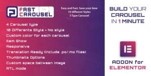 Fast Carousel for Elementor v1.0 - WordPress Plugin