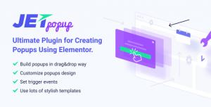 JetPopup v1.2.8 - Popup Addon for Elementor