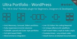 Ultra Portfolio v4.2 - WordPress