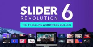 Slider Revolution v6.0.6 - Responsive WordPress Plugin