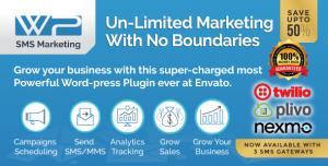 Wordpress SMS Marketing Plugin v8.8
