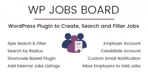 WP Jobs Board v1.4 - Ajax Search and Filter WordPress Plugin