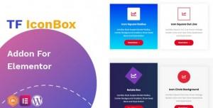 TF IconBox Addon for elementor v1.0.0