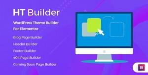 HT Builder Pro v1.0.0 - WordPress Theme Builder for Elementor