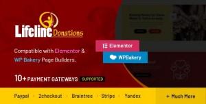 Lifeline Donations v1.0.1 - Multidimensional WordPress Donations Plugin