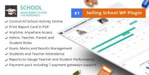 School Management System for Wordpress v57.0