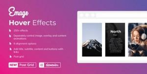 Emage v3.2.5 - Image Hover Effects for Elementor