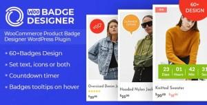 Woo Badge Designer v1.0.2 - WooCommerce Product Badge Designer WordPress Plugin