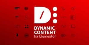 Dynamic Content for Elementor v1.5.2