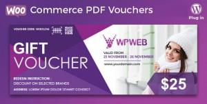 WooCommerce PDF Vouchers v3.8.13 - WordPress Plugin