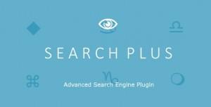 Search Plus v1.2 - Advanced Search Engine Plugin