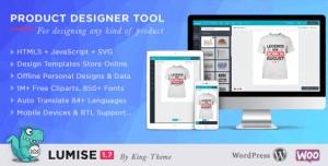 Lumise Product Designer v1.7.5 - WooCommerce WordPress