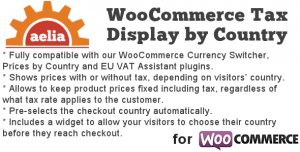 Tax Display by Country for WooCommerce v1.10.2.190615