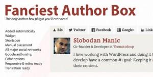 Fanciest Author Box v2.3