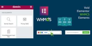 Elementor WHMCS Elements Pro For Elementor Builder v2.7