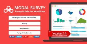 Modal Survey v2.0.0.5 - WordPress Poll, Survey & Quiz Plugin