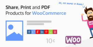 Share, Print and PDF Products for WooCommerce v2.3.6