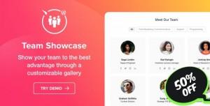 Team Showcase v1.0.0 - WordPress Team Showcase plugin