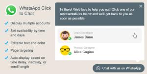 WhatsApp Click to Chat Plugin for WordPress v2.2.5
