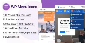 WP Menu Icons v1.1.0 - Effectively Add & Customize Icons For WordPress Menus