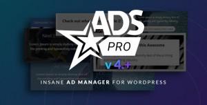 Ads Pro Plugin v4.3.2 - Multi-Purpose Advertising Manager
