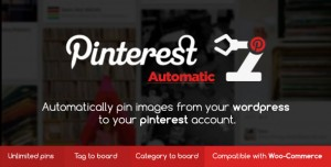 Pinterest Automatic Pin Wordpress Plugin v4.12.0