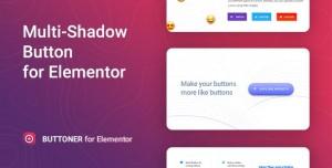 Buttoner v1.0.1 - Multi-shadow Button for Elementor