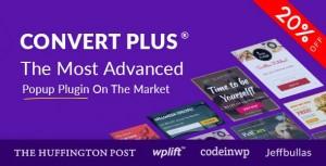 ConvertPlus v3.4.4 - Popup Plugin For WordPress
