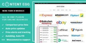 Content Egg v5.1.6 - all in one plugin for Affiliate, Price Comparison