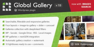 Global Gallery v7.05 - Wordpress Responsive Gallery