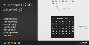Events Calendar v1.6.3 - WordPress Plugin DZS