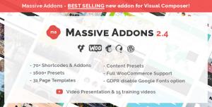 Massive Addons for WPBakery Page Builder v2.4.5.4