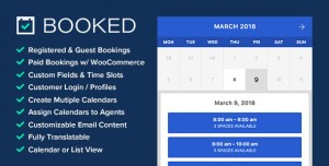 Booked v2.2.5 - Appointment Booking for WordPress