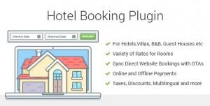 Hotel Booking v3.3.1 - Property Rental WordPress Plugin