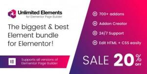 Unlimited Elements for Elementor Page Builder v1.3.17