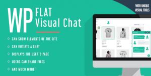 WP Flat Visual Chat v5.384